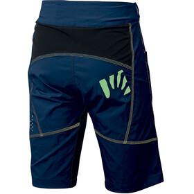 Karpos Ballistic Evo Shorts Herre insignia blue/black/yellow fluo